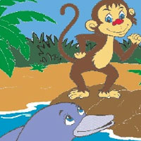 Short Stories - The Monkey and the Dolphin