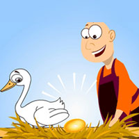 Short Stories - The Goose with the Golden Eggs