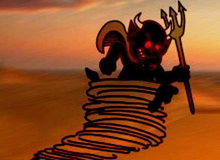 Short Story - Marco Polo Diaries: The Sand Devils