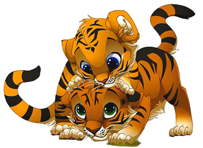 The Two Tiger Cubs