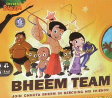 Bheem Team Board Game – MadRat Games