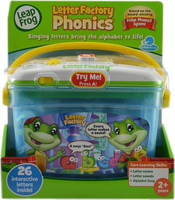 leapfrog letter factory phonics toy game