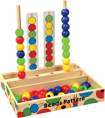 SkilloFun Beads Pattern Box - Toy Game
