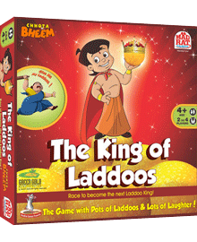 The King of Laddoos - Board Game