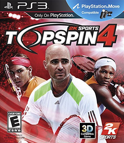 Top Spin 4, Tennis Video Game