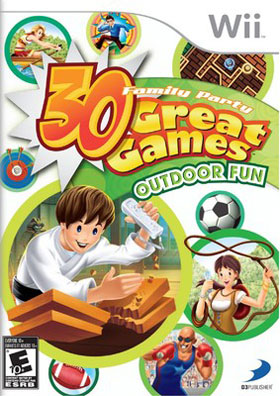 Family Party : 30 Great Games Outdoor Fun (Games, Wii)